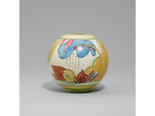 'Moonlight' A Globe Vase