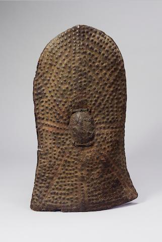 Cameroons shield (dimples), Ethipian small circular shield, Uganda shield 9check) (3)