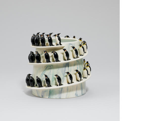 'March of the Penguins' A Vase
