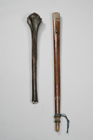 Solomon Islands club. Collected 1890 by US Militaryfamily, ex Blackburn (REF 2101) 92.5 cm