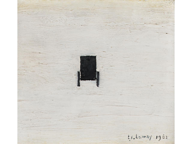 Laurence Stephen Lowry R.A. (1887-1976) A carriage 15.8 x 17.5 cm. (6 1/4 x 6 7/8 in.)