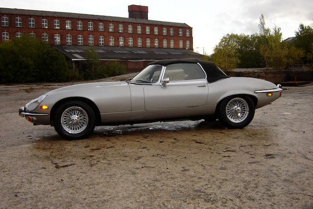1972 Jaguar E-Type Series III V12 Roadster  Chassis no. 1S20537BW Engine no. 7S6418SB