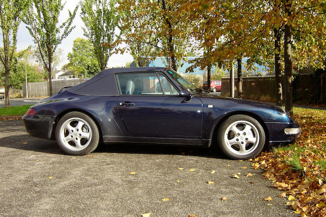 1997 Porsche 911 Type 993 Carrera 4 Cabriolet  Chassis no. WP0ZZZ99ZVS370662
