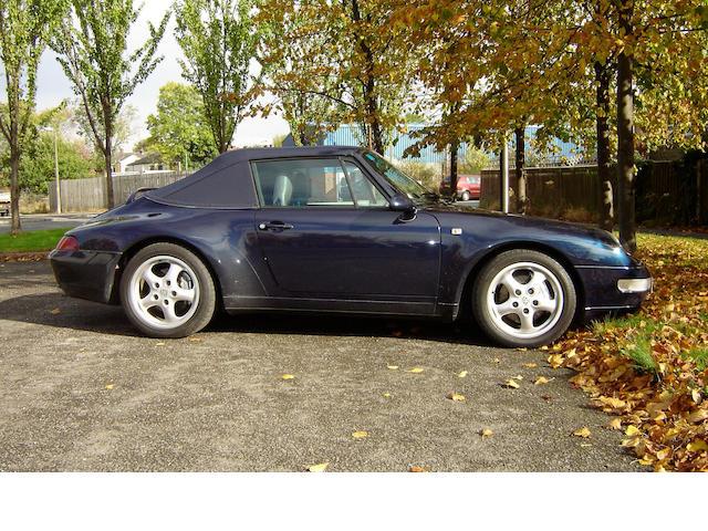 1997 Porsche  911 Type 993 Carrera 4 Cabriolet WP0ZZZ99ZVS370662