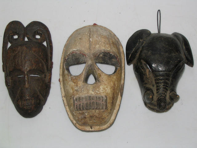 Cross River mask with scroll headdress, Yoruba elephant mask, Nigerian mask (3)