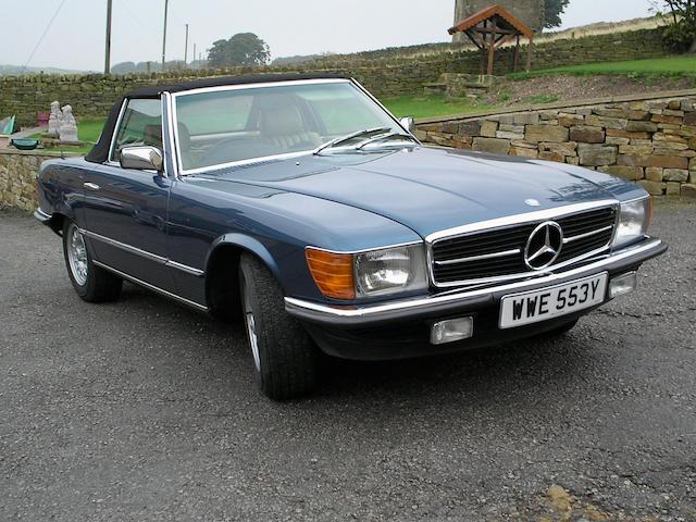 1982 Mercedes-Benz 380SL Convertible 10704522020349