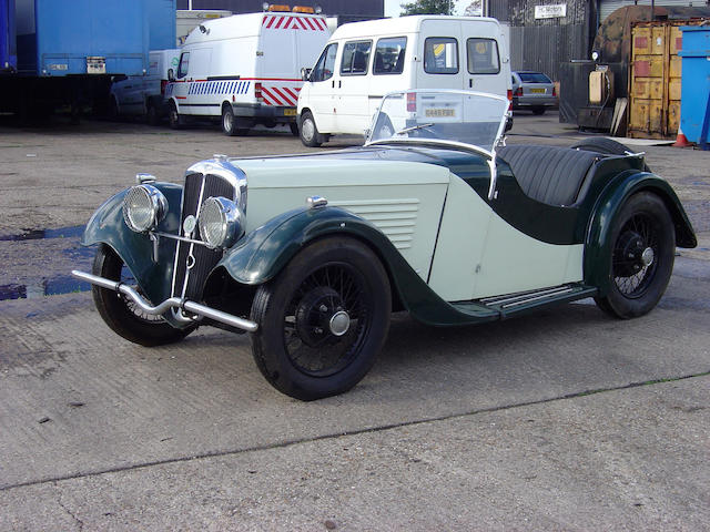 c.1935 BSA Scout Roadster  Chassis no. To be advised
