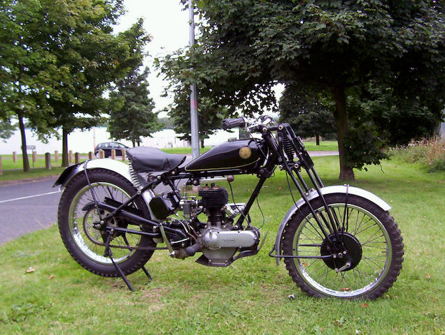 1929 Triumph 494cc Model N De Luxe  Frame no. 2068739 Engine no. 507280