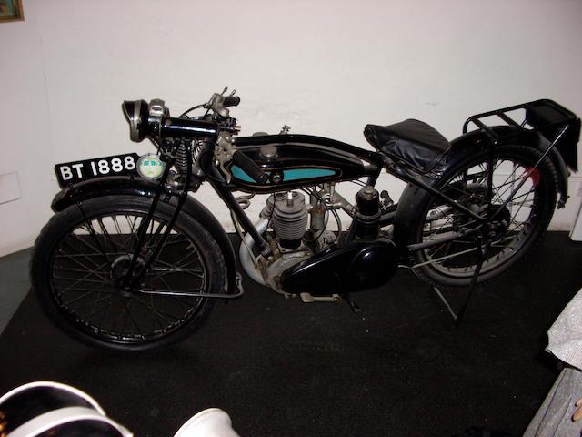 1929 Triumph 277cc,