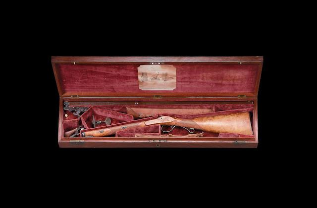 A Fine Cased 14-Bore Royal Percussion Sporting Gun