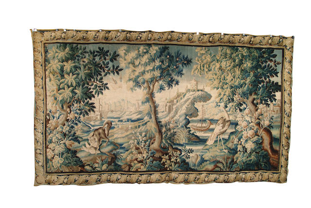 An Aubusson Chinoiserie tapestry France, circa 1750, 430cm x 270cm
