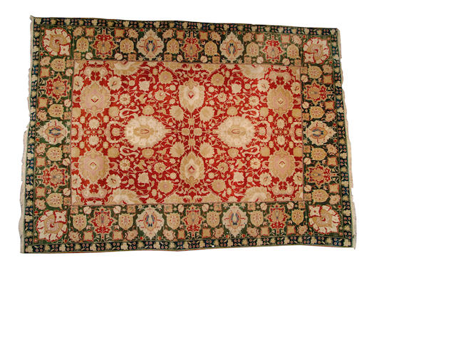 An Agra design carpet probably Afghanistan, 440cm x 306cm