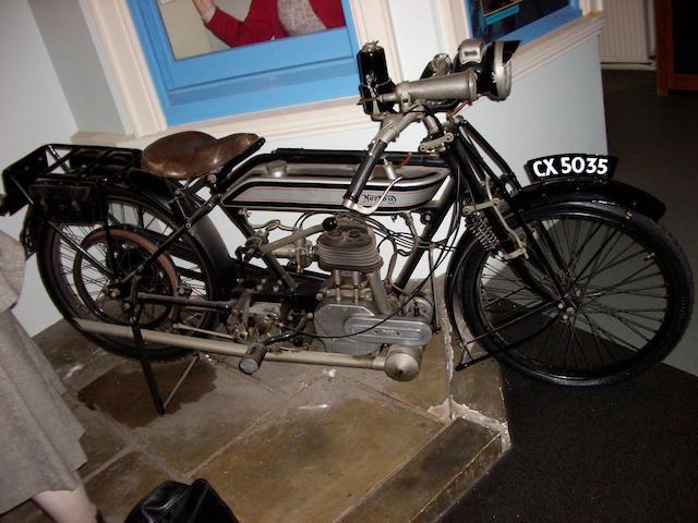 c.1920 Norton 498cc Model 16  Frame no. 1036 Engine no. BA2499