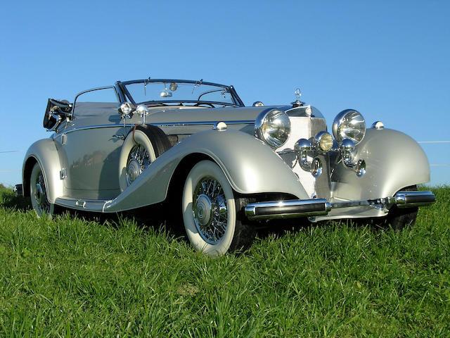 1938 Mercedes-Benz 540K Cabriolet 'A'  Chassis no. 169397 Engine no. 169397