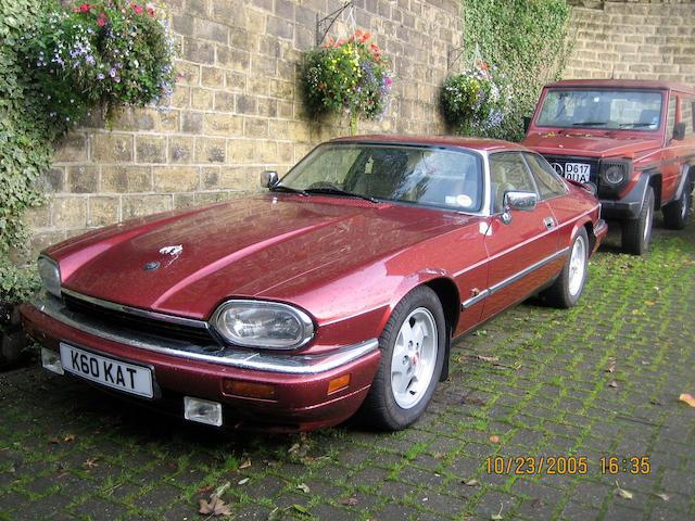 1993 Jaguar XJ-S 4.0-Litre Coupé SAJJNAED7EJ188919