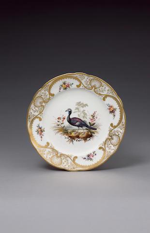 A good Nantgarw plate from the Mackintosh Service circa 1818-20