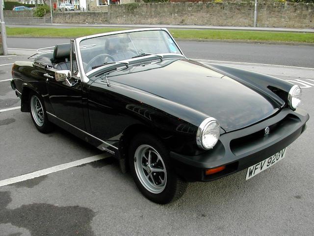 1979 MG Midget 1500 Roadster  Chassis no. GAN6 229257G Engine no. 78344