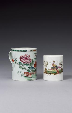 A good Chaffers mug circa 1758-60