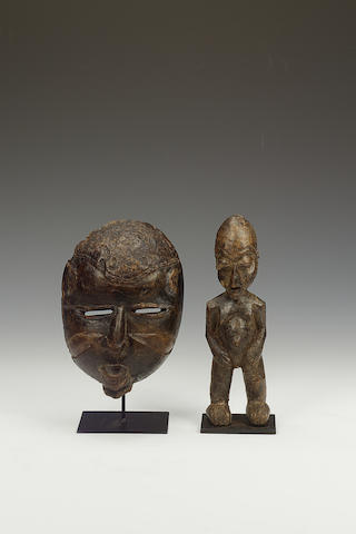 A Lobi figure and a Yoruba mask 2
