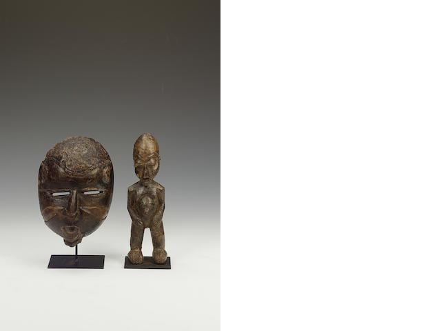 A Lobi figure and a West African mask 2