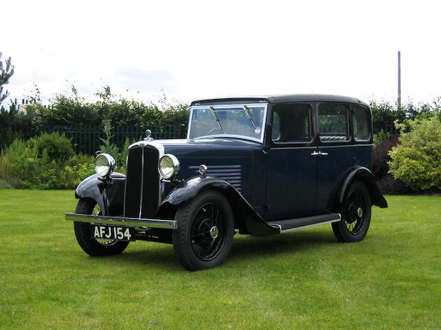 1934 BSA Saloon,