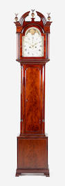 An early 19th Century mahogany longcase clock  Peter Ritchie, Edinburgh,