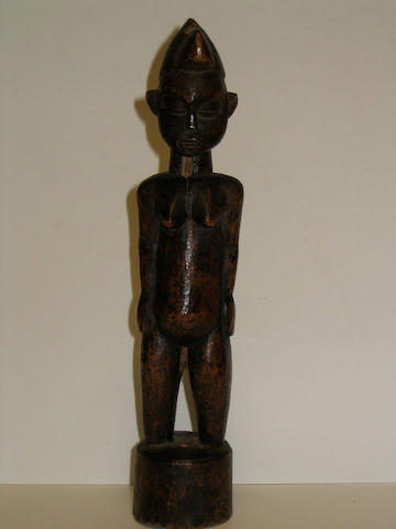 A Senufo female figure