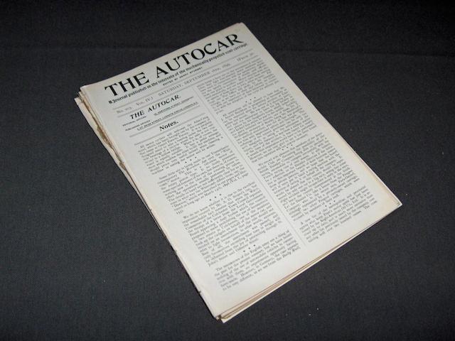 The Autocar; 16th Jan 1899 - 16th Dec 1899,