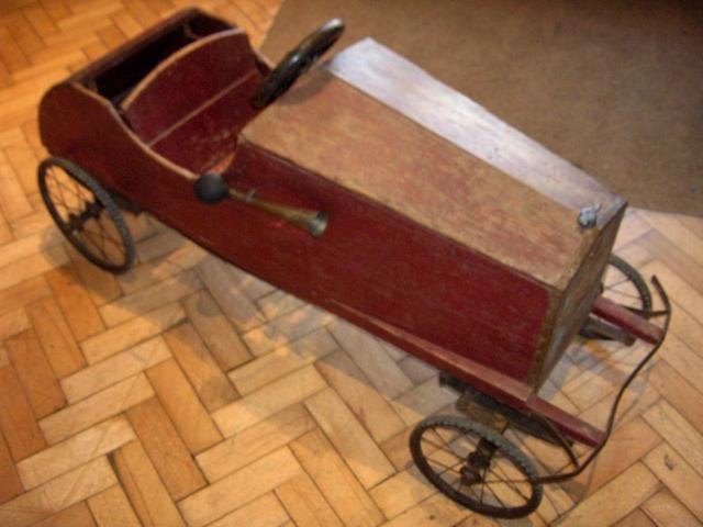 A Edwardian child's pedal car, circa 1912,