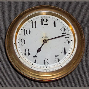 An eight day car clock by OCTO, Swiss,
