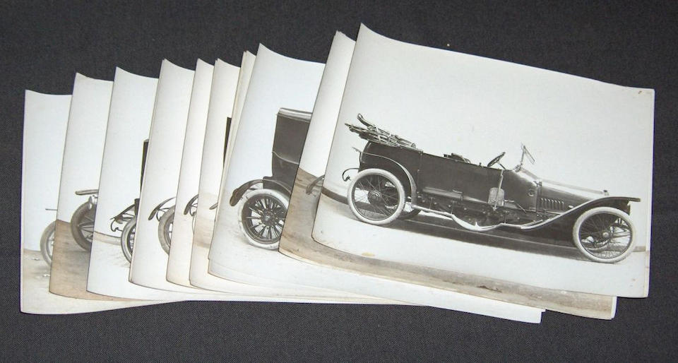 Twenty-two Jules Beau coachwork photographs, circa 1907,