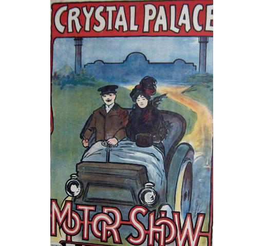 A fine and rare Crystal Palace Motor Show, 1902,