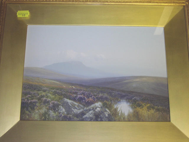 Frederick John Widgery (1861-1942) 25 x 36cm. (2)
