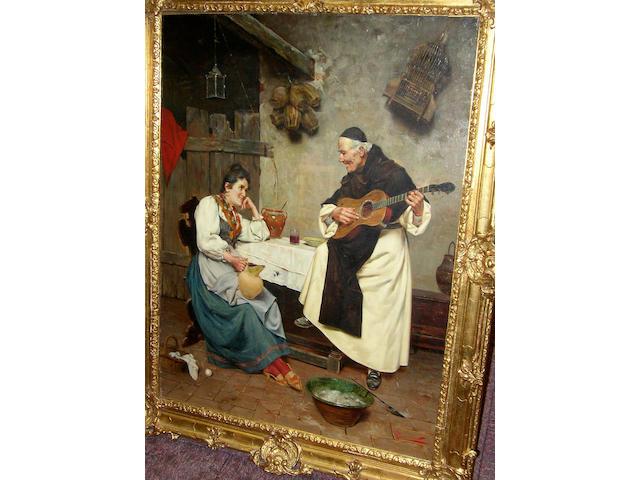 E. Torrini (19th/20th century) Italian 'Melody',
