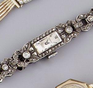 Gigandel, A diamond set cocktail watch,