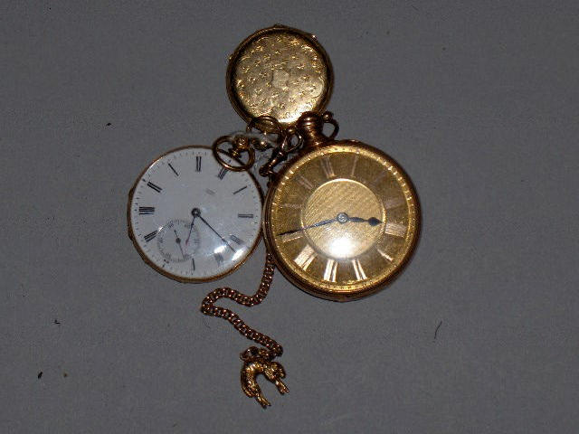 Trycross & Burgess, Dublin, No 1449, An early 19th Century 18 carat gold verge pocket watch,