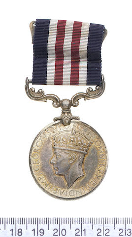 A Second World War M.M. of five to Sergeant C.Franks, Royal Warwickshire Regiment,