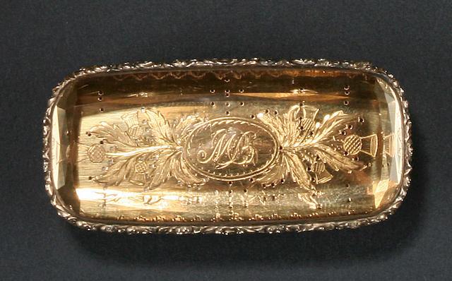 A Victorian quartz vinaigrette