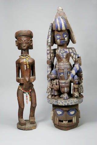 A Large Yoruba Epa headdress