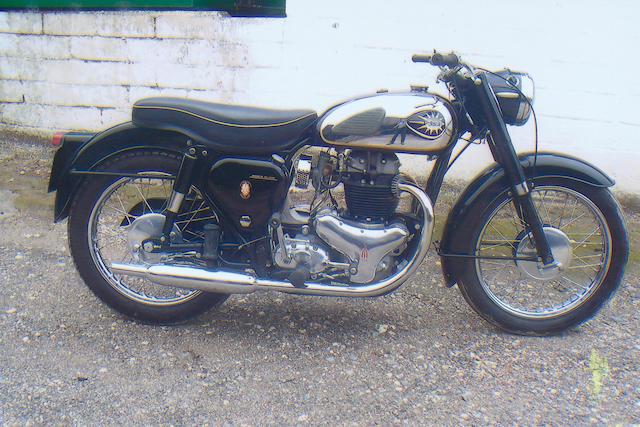 1960 BSA 646cc A10