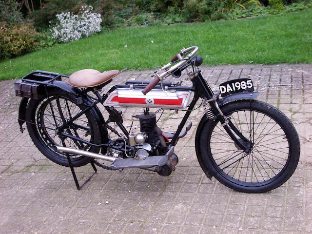 1915 T D Cross 300cc  Frame no. 172527 Engine no. 950