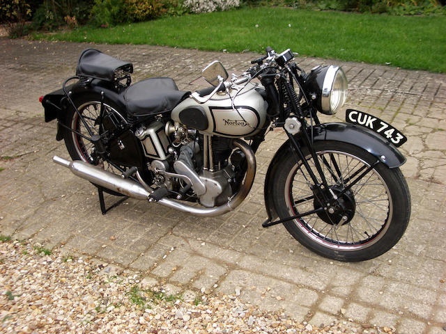 1939 Norton 348cc Model 50  Frame no. 107161 Engine no. 10428