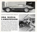 The property of a lady,1966 Lamborghini 400GT Monza two-seater aluminium berlinetta  Chassis no. 01030