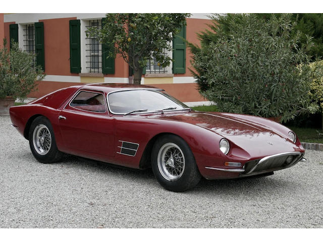 The property of a lady,1966 Lamborghini 400GT Monza two-seater aluminium berlinetta 01030