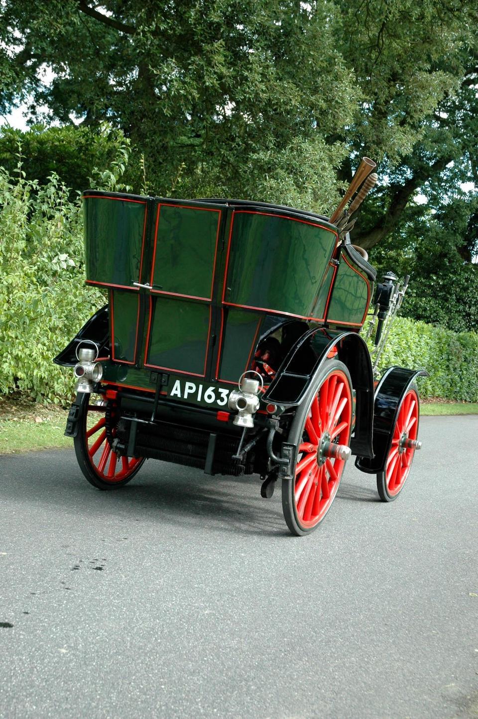 """1900 MMC 6-hp """"Charette"""" Rear-entrance Tonneau  Chassis no. 290 Engine no. 343"""