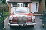 1967 Mercedes-Benz 230 Automatic Saloon 11001122004285