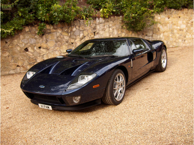 One owner, 280 miles from new,2005 Ford GT40 Coupé  Chassis no. 1FAFP90S75Y400809 Engine no. Y400809