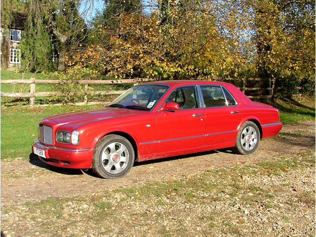Property of a Deceased Estate, one owner from new,2001 Bentley Arnage 'Red Label' Saloon  Chassis no. SCBLC31EX1CH06219 Engine no. L675102244