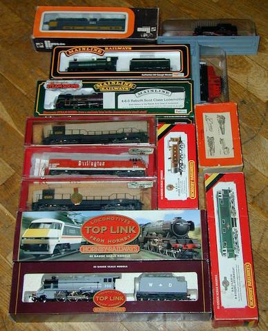 Various locomotives 13