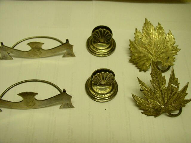 A set of four late Victorian menu card holders by Henry Williamson, Chester 1896,
